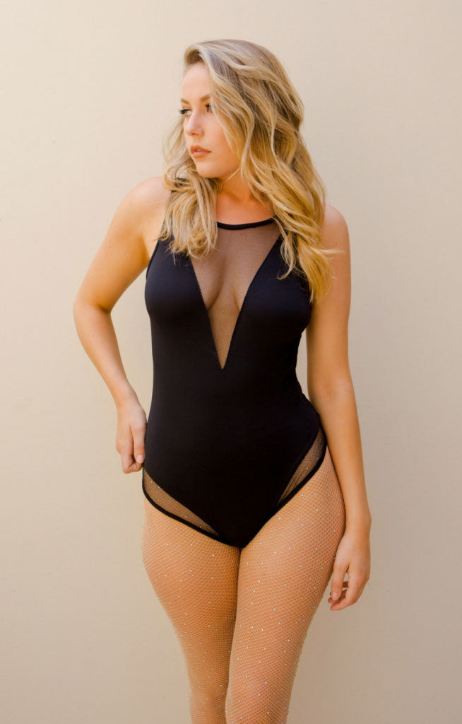 Midnight Bodysuit Black