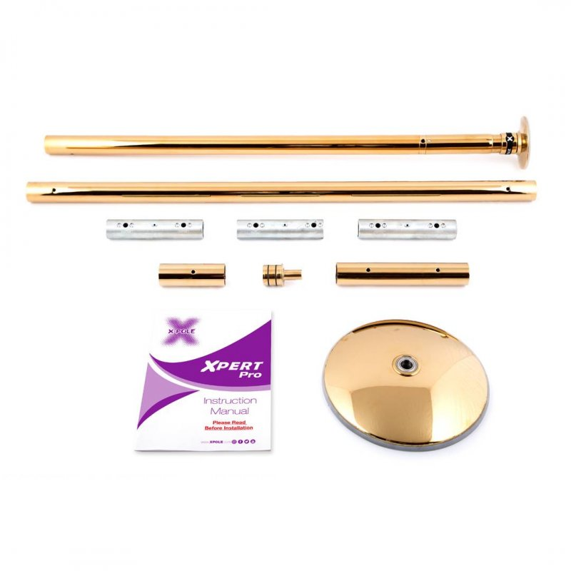 X-Pole Stange Xpert PRO (PX) T-Gold