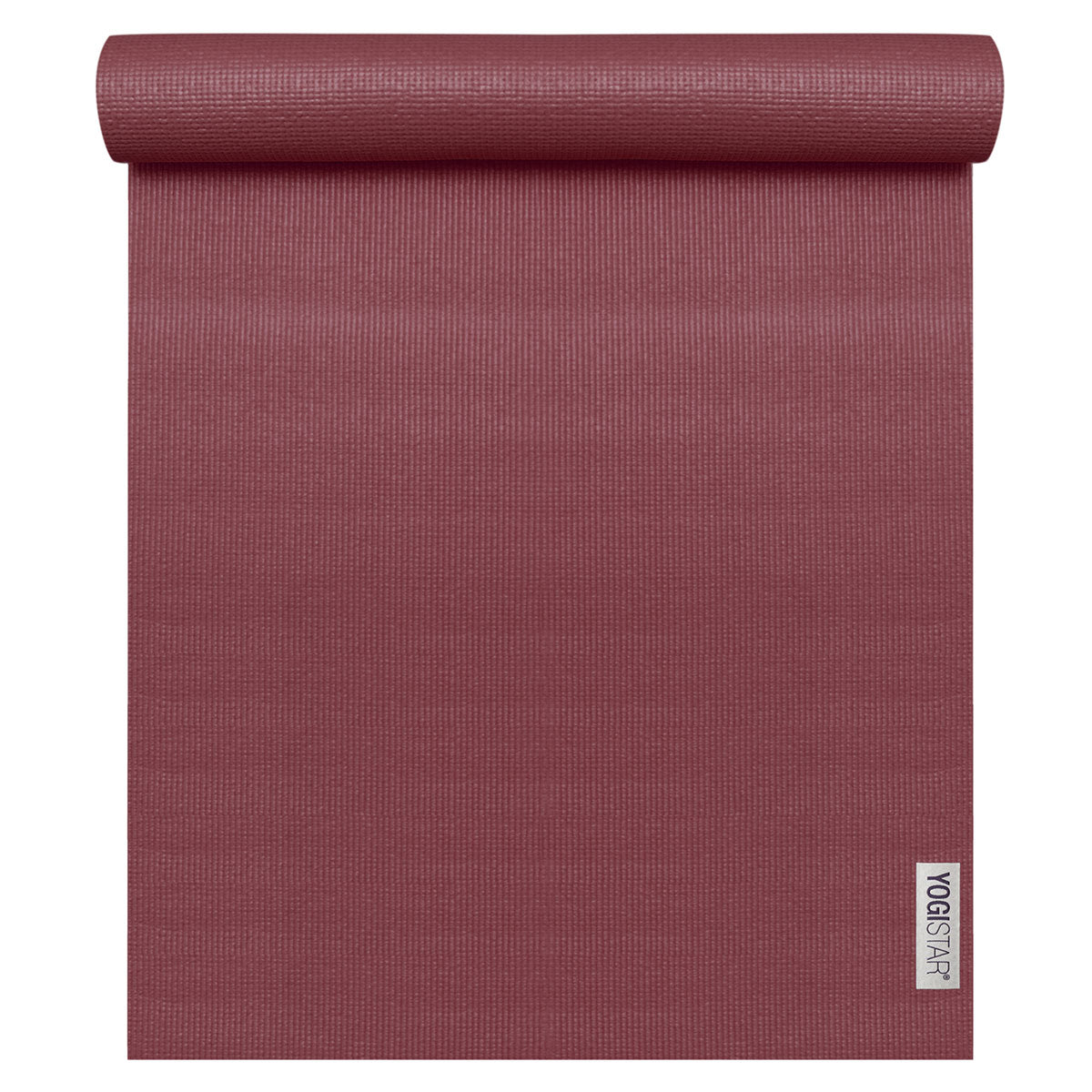 Yogamatte Basic Bordeaux Yogistar