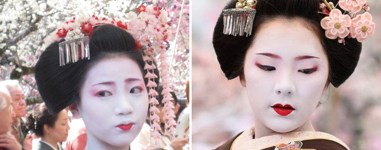 Maquillage Geisha