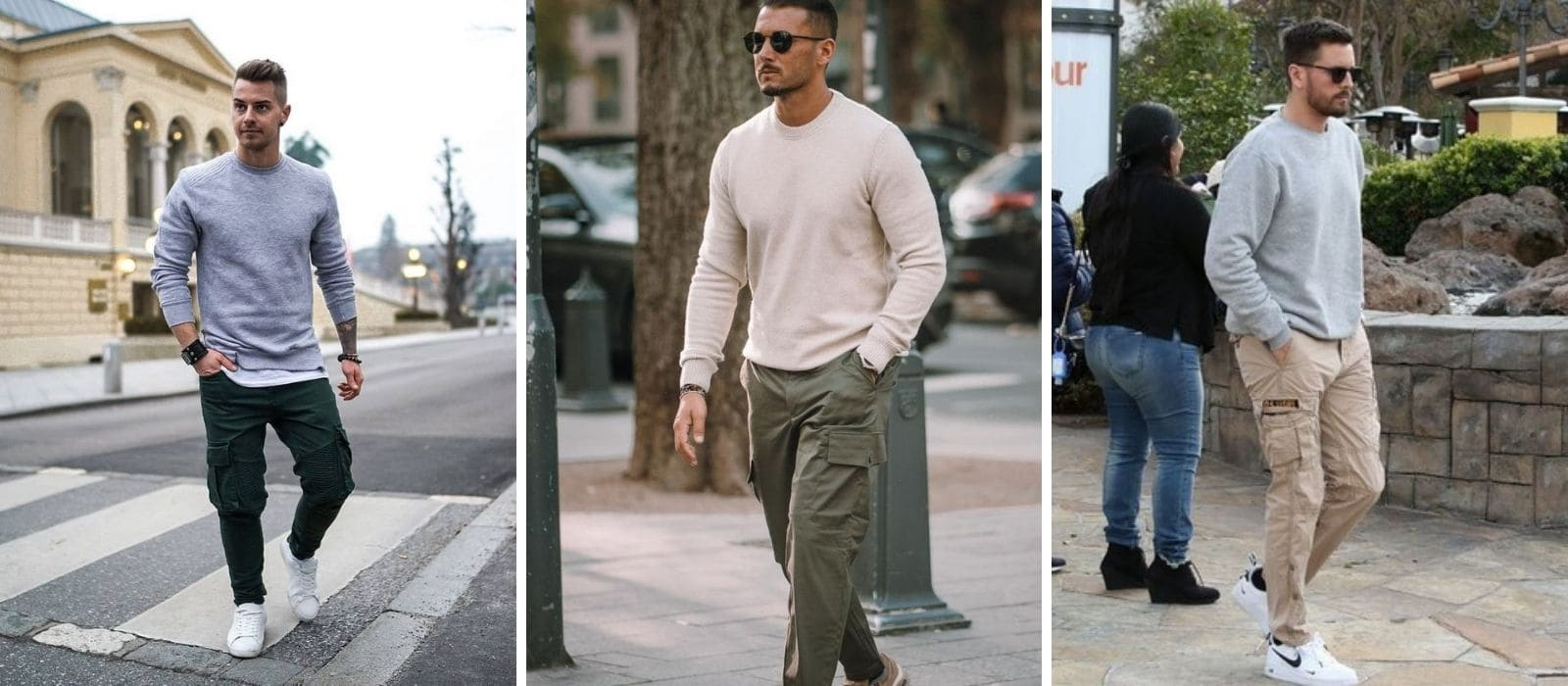 look cargo casual chic