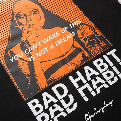 T-shirt<br> Bad Habit