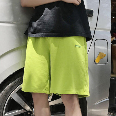 short jogging fluo
