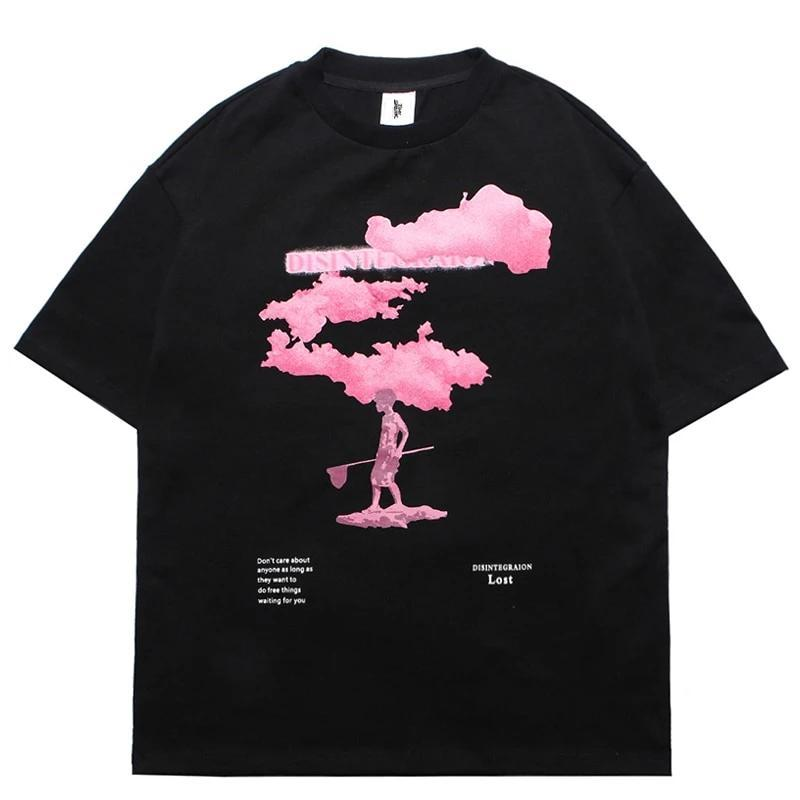 T-Shirt Japonais<br> Pink Cloud