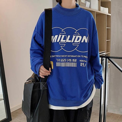 Sweat japonais oversize