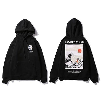Hoodie Oversize<br> Law of Nature