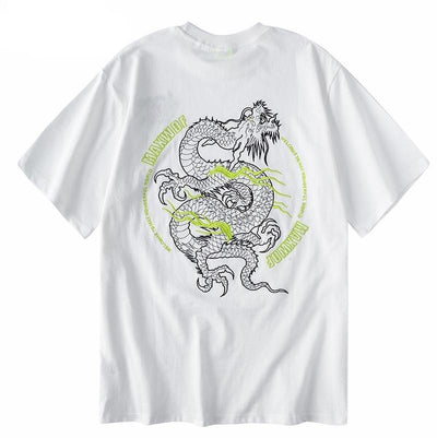 tee shirt dragon japonais