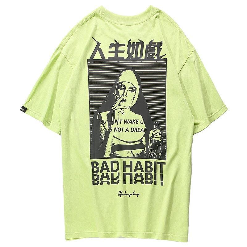 T-shirt Japonais<br> Bad Habit