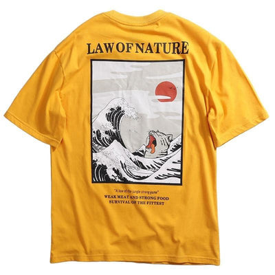 T-shirt Vague Hokusai