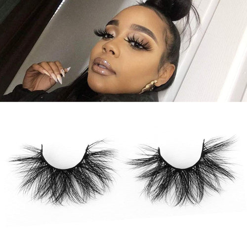 3 pair Mink Eyelashes 3D Mink Hair False Eyelashes Natural Thick Long Eye Lashes Fluffy Makeup Beauty Extension - Hair She Come