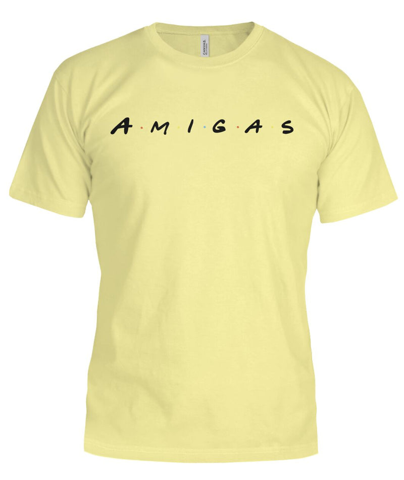 "Ladies ""AMIGAS"" Bella T Shirts."