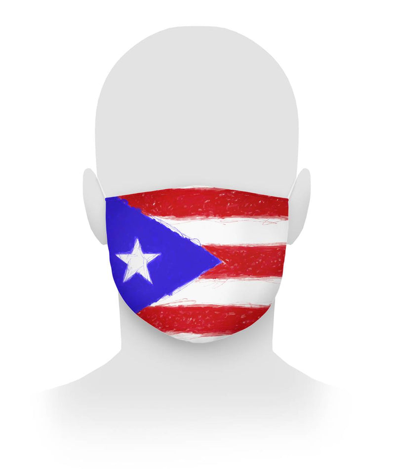 Puerto Rican Mask Cloth Face Mask