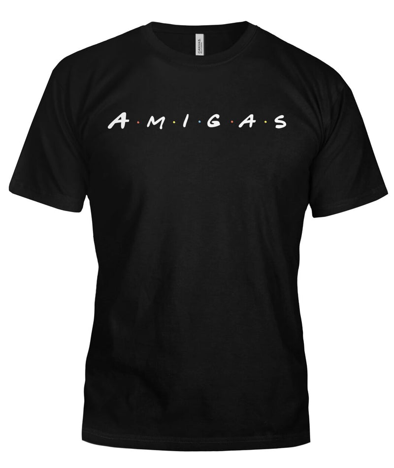"Ladies ""AMIGAS"" Bella T Shirts"