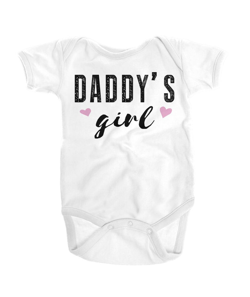 """Father's Day"" Baby GIRL ""Daddy's Girl"" Body Suit"