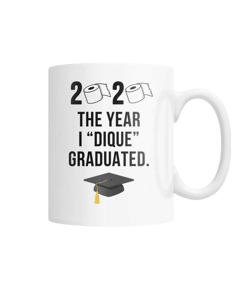 "2020 ""Quarantine"" Graduation Mug White Coffee Mug"