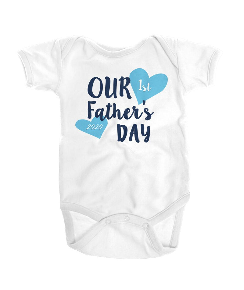 """Fathers Day"" Baby BOY Bodysuit"
