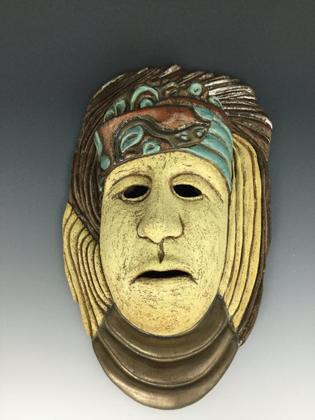 """Eliana"" Large Decorative Mask by Cheryl Benus"