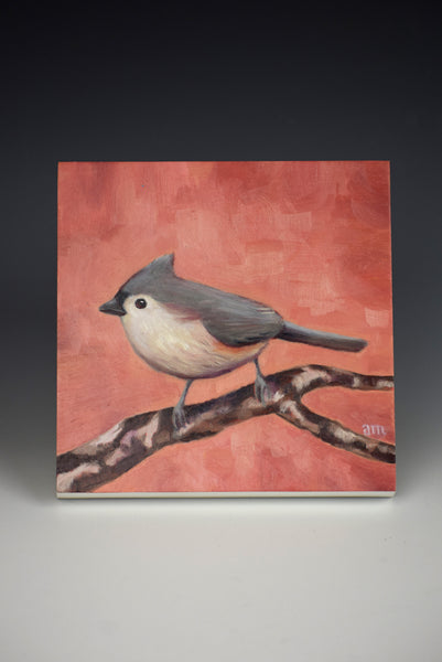 Tafted Titmouse by Anna Magruder