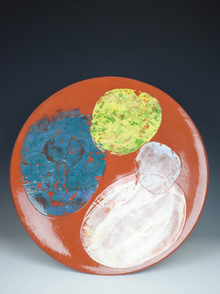 4 Stone Platter by Audra Ladd