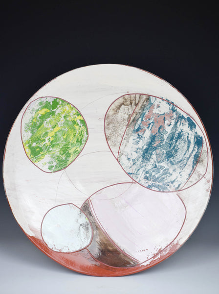 4 Stones Platter by Audra Ladd