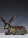 Raku Rabbit by Susan Lawless
