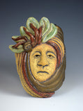 """Aviva"" Small Decorative Mask by Cheryl Benus"