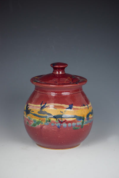 Lidded-Jar by Timothy Weber
