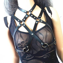 Load image into Gallery viewer, Leather Chest Harness