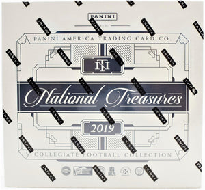 2019 Panini National Treasures Football Box