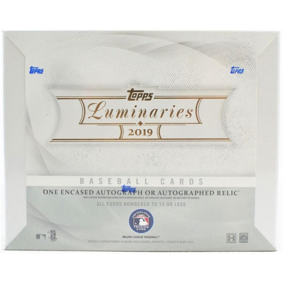 2019 Topps Luminaries Baseball Box
