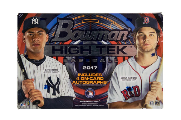 2017 Bowman High Tek Baseball Box