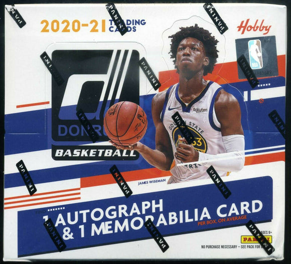 2020/21 Panini Donruss Basketball Hobby Box