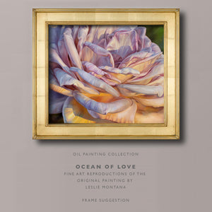 OCEAN OF LOVE Giclee Print of the Original Oil Painting - Leslie Montana
