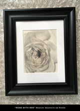 Load image into Gallery viewer, Trio of Roses, Graphite on Paper, Original Artwork - Leslie Montana