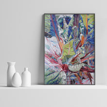 Load image into Gallery viewer, RUBY CHARD Two, POSTER Print of the Original Watercolor Painting - Leslie Montana