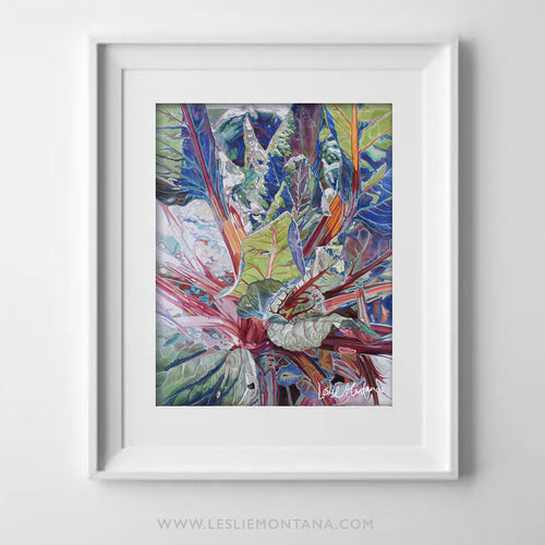 RUBY CHARD TWO, Special Edition Archival Print, Frame Ready - Leslie Montana