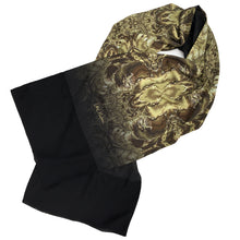 Load image into Gallery viewer, OYSTER Lightweight Shawl in Brown, Gold & Tan - Leslie Montana