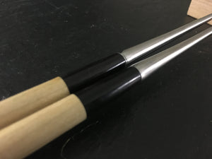 Professional 165mm Magnolia and Buffalo Horn Moribashi Chopsticks