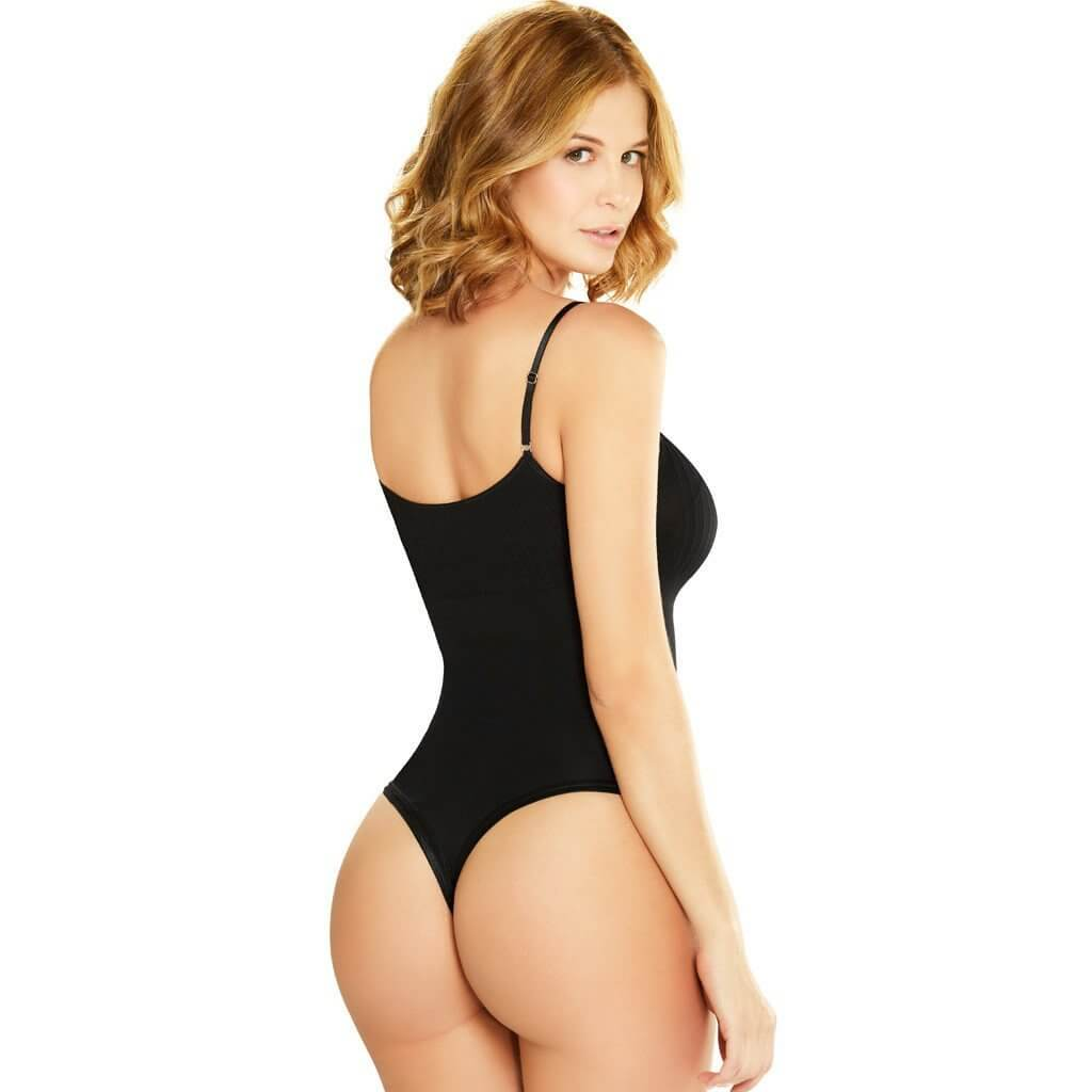 Diane & Geordi Colombian Faja, Open Bust Bodysuit, Butt Lifter, Daily Use