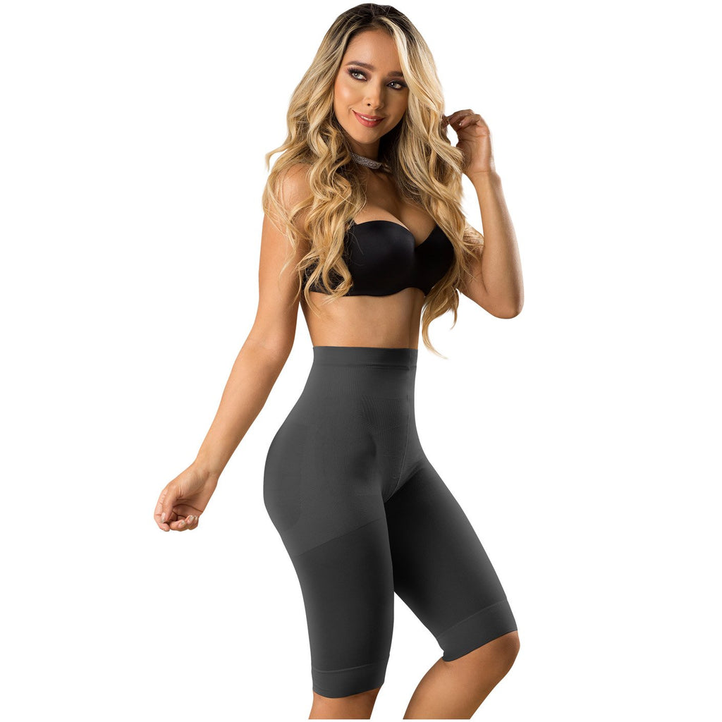 Laty Rose Colombian Faja | High Waist Knee Length Pants | Butt Lifter | Tummy Control | Daily Use
