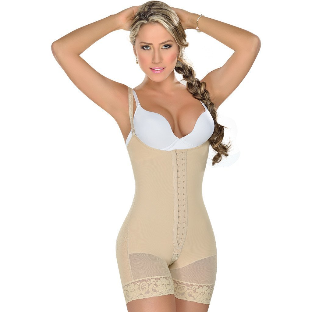 MyD Colombian Faja | Tummy Control Postpartum | Open-bust and Bodysuit Design