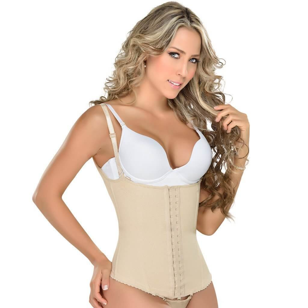 MyD Colombian Faja for Dresses ,Tummy Control Shapewear, Open Bust