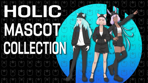 Holic Mascot Collection Rhys Jinx Zuzu Splash Art