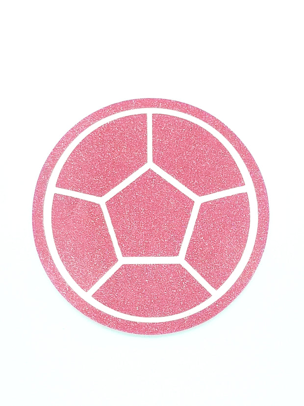 Rose Quartz Glitter Decal Sticker