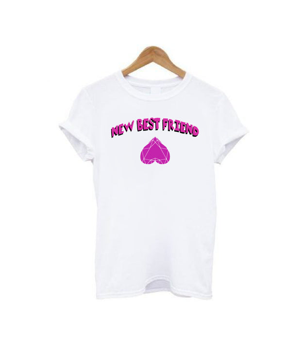 New Best Friend Blk Ver. T-Shirt
