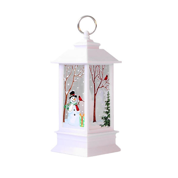 Outside Light Style Christmas Candle