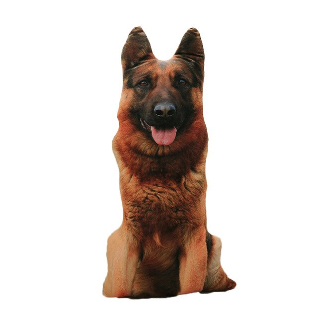 3D German Shepard Cushion