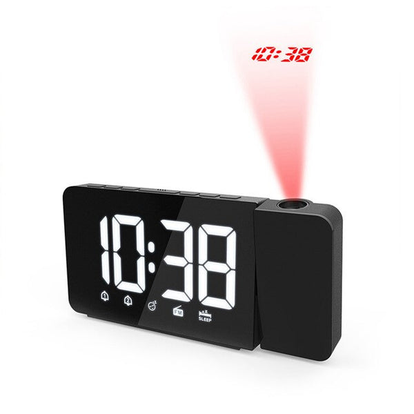 Clock with Radio & LED Light