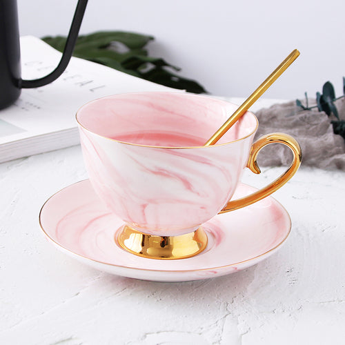 Striped Marble Cup