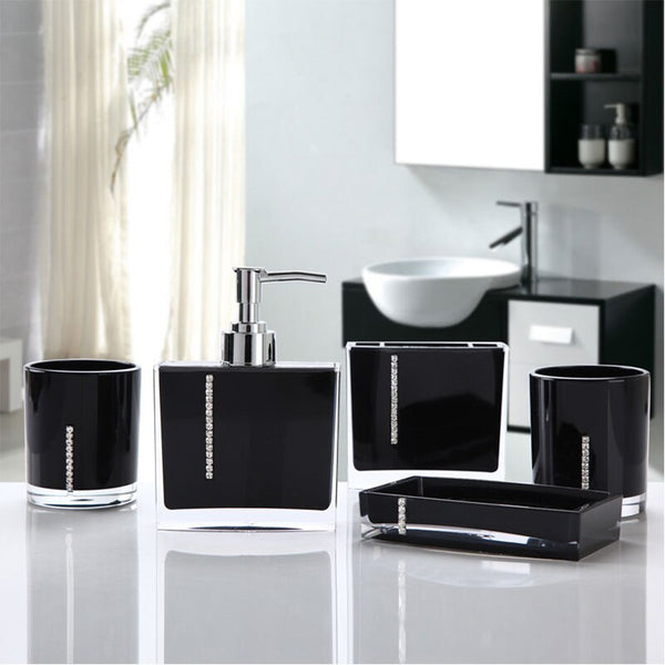 Five Piece Bathroom Set